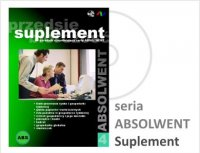 ABSOLWENT 4 - Suplement